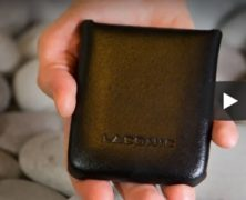 Slim Leather Wallet LACONIC