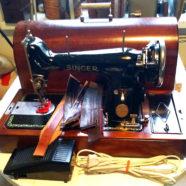 Бытовые швейные машинки для кожи